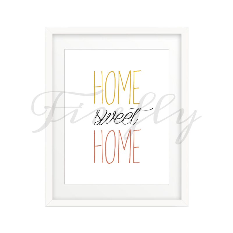 Cuadro home sweet home 1 Home sweet home wall decor